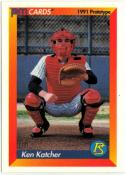 1991 PM Cards Prototype NNO Ken Katcher