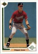 1991 Upper Deck  #55 Chipper Jones RC
