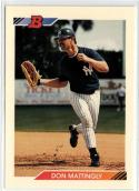 1992 Bowman  #340 Don Mattingly