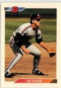 1992 Bowman  #460 Jim Thome