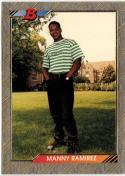 1992 Bowman  #676 Manny Ramirez FOIL  60/40
