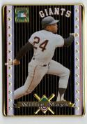 1993 Metallic Images  #P1 Willie Mays EX Promotional Sample