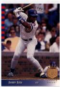 1993 SP  #89 Sammy Sosa