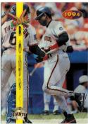 1994 Sportflics Rookie/Traded Going Going Gone  #GG8 Barry Bonds