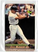 1995 Classic $10 Phone Cards  #5D Cal Ripken   Swinging