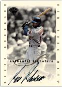1996 Leaf Signature Extended Autographs  #172 Kevin Roberson