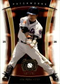 2005 Fleer Patchworks Gold #30 Kazuo Matsui #'d 14/99