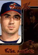 2006 Topps Co-Signers Changing Faces Bronze #29a Travis Hafner/Victor Martinez #'d 141/150