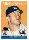 2008 Topps Heritage National Convention #496 Mickey Mantle
