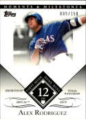 2007 Topps Moments and Milestones #27-12 Alex Rodriguez/HR 12 #'d/150