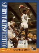 1992 Kellogg's Raisin Bran College Basketball Greats #12 Charles Smith