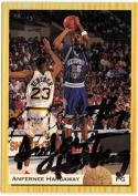 1993 Classic Draft #2 Anfernee Hardaway EX Autographed