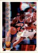 1993-94 Upper Deck Pro View #16 Joe Dumars Card  with FREE 3D Glasses