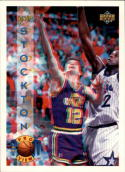 1993-94 Upper Deck Pro View   #18 John Stockton with FREE 3D Glasses.