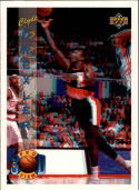 1993-94 Upper Deck Pro View #68 Clyde Drexler with FREE 3D Glasses