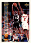 1993-94 Upper Deck Pro View #70 David Robinson with FREE 3D glasses