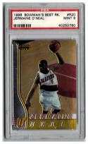 1996-97 Bowman's Best #R20 Jermaine O'Neal RC Graded PSA 9 Mint