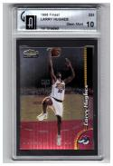 1998-99 FINEST #233 Larry Hughes  GAI 10 (GLOBAL) GAI 1st Graded