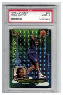1998-99 Upper Deck IONIX #65 VINCE CARTER RC Graded PSA 9 Mint