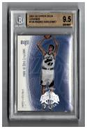 2001-02 UPPER DECK LEGENDS #109 ANDREI KIRILENKO RC BGS 9.5 #'d to 3250