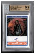 2006-07 TOPPS ROOKIE PHOTO SHOOT AUTOGRAPHS #MA MAURICE AGER  BGS 9.5