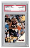 1996-97 Hoops #306 JERMAINE O'NEAL RC Graded PSA 10 Gem Mint