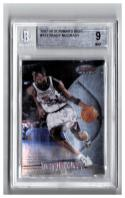 1997-98 BOWMAN'S BEST #111 TRACY MCGRADY RC  BGS 9.0