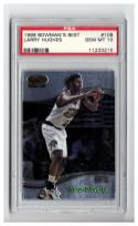 1998-99 BOWMAN'S BEST #108 LARRY HUGHES RC PSA 10 See Description.