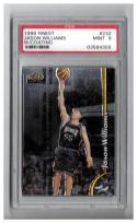 1998-99 FINEST #232 JASON WILLIAMS RC W/COATING Graded PSA 9 Mint