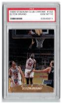 1999-00 STADIUM CLUB CHROME #132 ELTON BRAND RC  PSA 10