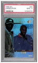 1999-00 SPX #94 LAMAR ODOM RC PSA 9 Serial #'d to 3500
