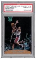 1999-00 Stadium Club Chrome Previews Refractors #SCC16 Steve Francis PSA 10
