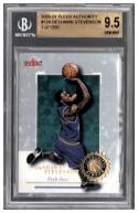 2000-01 FLEER AUTHORITY #124 DESHAWN STEVENSON RC Graded BGS 9.5 Gem Mint 1 of 1250