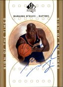 2000-01 SP Authentic Sign of the Times #MN Mamadou N'Diaye Auto