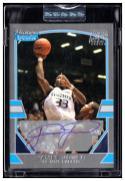 2003-04 Bowman Signature Edition Silver #107 James Jones MEM AU Encased #'d/249