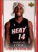 2007-08 Upper Deck  Santa Hat Rookies #DC Daequan Cook
