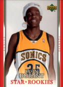 2007-08 Upper Deck  Santa Hat Rookies #KD Kevin Durant