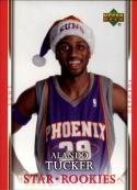 2007-08 Upper Deck  Santa Hat Rookies #TU Alando Tucker