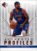 2008-09 Upper Deck SP Authentic Profiles #AP26 Rasheed Wallace