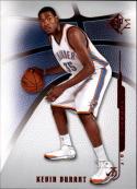 2008-09 Upper Deck SP Authentic Retail #4 Kevin Durant