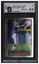 1999 Topps Chrome #157 Peerless Price Graded GAI 9.5 Gem Mint RC-Rookie