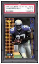 2000 Collector's Edge T3 Retail #220 Shaun Alexander RC PSA 9