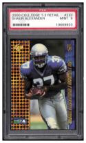 2000 Collector's Edge T3 Retail #220 Shaun Alexander PSA 9 RC-Rookie