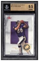 2001 Fleer Authority #112 Todd Heap Beckett BGS 9.5 RC #'d/1350