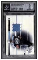 2003 Donruss Leaf Rookies and Stars #263 Chris Brown RC JSY BGS 9 #'d /550