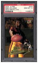 2004 Fleer Ultra Gold Medallion #209 Mike Williams L13 PSA 10