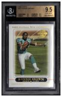 2005 Topps #411 Ronnie Brown Beckett 9.5 RC-Rookie