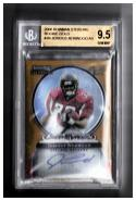 2006 Bowman Sterling Gold Rookie Autographs #JN Jerious Norwood Beckett 9.5 Autograph #'d/900