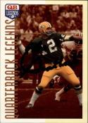 1993 Quarterback Legends #6 Zeke Bratkowski Autograph