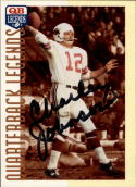 1993 Quarterback Legends #23 Charley Johnson Autograph